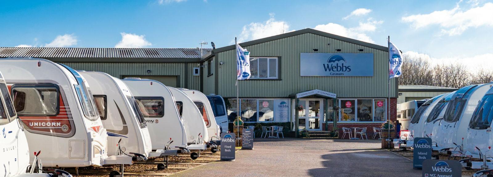Used Caravans for Sale | Webbs Caravans | UK