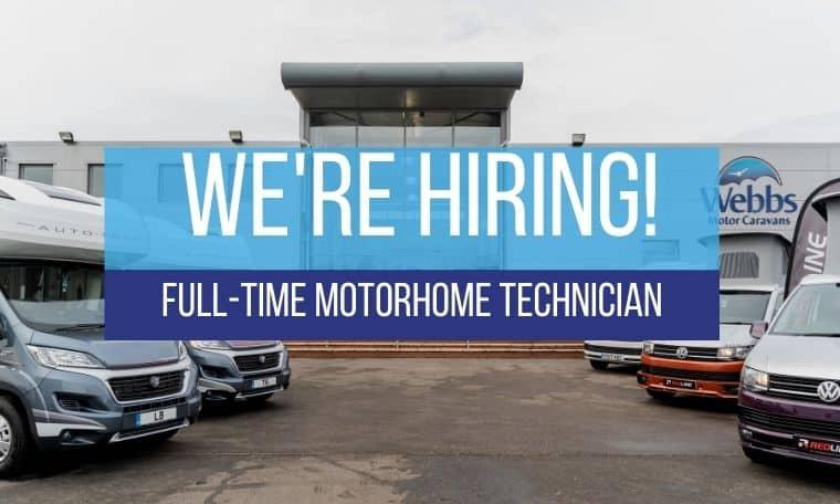 Apply for a job at Webbs Motor Caravans