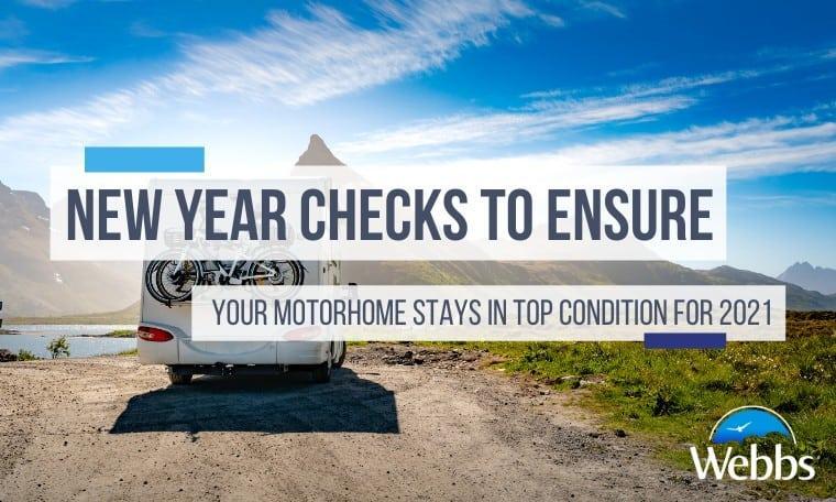 Motorhome Checks for safe trip