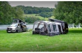 Camper Awning at Webbs Motorhomes, Reading