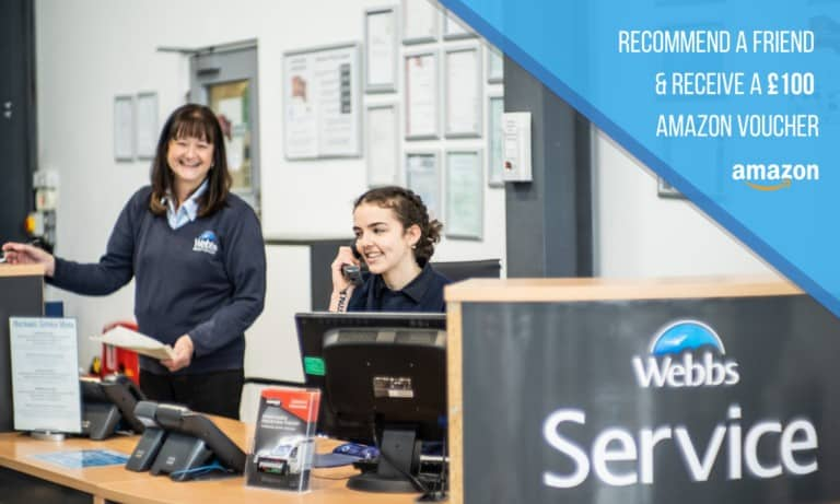 Our staff at Webbs, Reading, working hard for motorhome sales