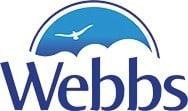 Webbs Motor Caravans company logo.