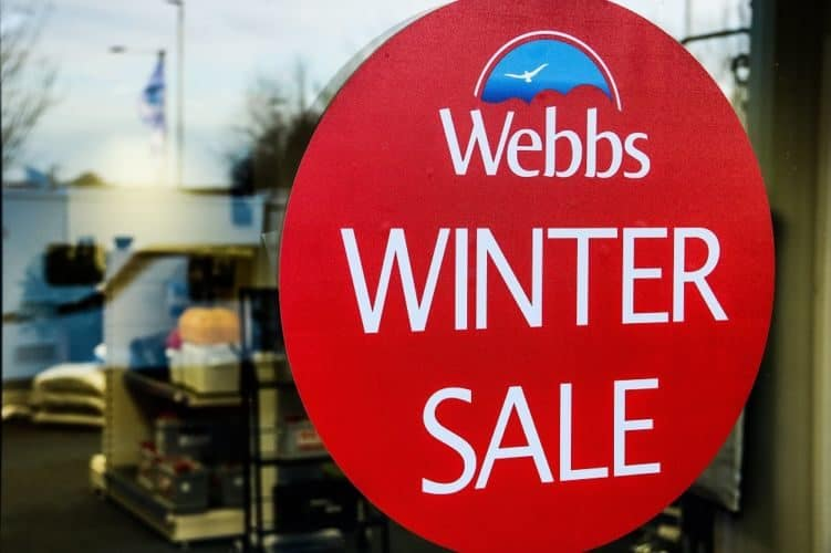 Our Winter Motorhome Sale